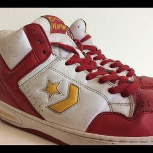 Rare🔥 Converse all star weapon high top vintage